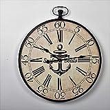 CLOCK Horloge murale Mer - Diametre 60x71x4cm