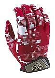 adidas FilthyQuick Digital Receiver American Football Handschuh, rot, Gr. L