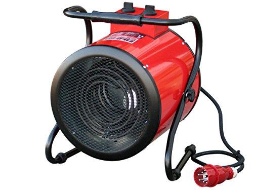 elektrisches heizgeblaese Rotek Elektrischer Rundheizlüfter (schwenkbar) mit 9 kW Heizleistung (400V), HFR-09-400