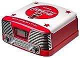 Bigben AU317268 Coca Cola Plattenspieler TD79 II