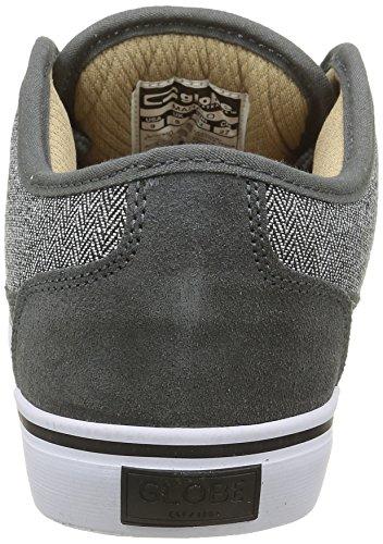 Globe Herren Mahalo Sneakers Grau (charcoal/herringbone)