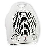 Highlands 2kW Upright Free Standing Electric Fan Heater, 2 Settings #HEA03