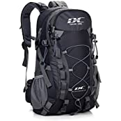 Diamond Candy LL-443 Black, 40L Backpack Diamond Candy Outdoor Hiking Climbing Backpack Daypacks Waterproof Mountaineering Bag 40L Unisex High-capacity Travel Bag (Sports & Outdoors)
