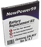 Kit de Remplacement de Batterie pour Samsung Galaxy Tab S2 9.7 Série (SM-T810,...