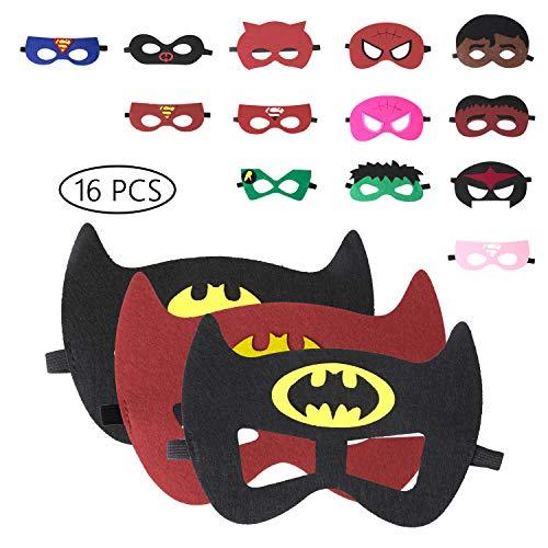 URAQT Mascaras Superheroes