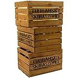 Kistenkolli Altes Land - Cajas de madera, 3 unidades, diseño vintage