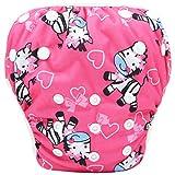 Storeofbaby Waschbare Schwimmwindeln Cute Design Hosen für Neugeborene 0 3 Jahre