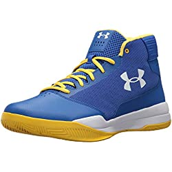 Under Armour UA Jet 2017, Zapatos de Baloncesto para Hombre, Azul (Team Royal), 41 EU