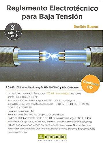 Reglamento Electrotécnico para Baja Tensión (REBT) 3º Ed por Benilde Bueno