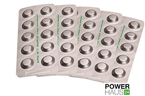 Power HAUS24–50Rapid Test Tablets Chlorine/Bromine DPD