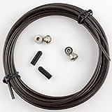 boSports Springseil Speed Rope Ersatzteil Set (Schwarz) - passend für Modelle vieler Marken