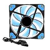 Unterbrechen PC Computer 33LED Lights 120mm Silent Computer Fall Kühlkörper Kühler Lüfter