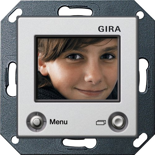 Preisvergleich Produktbild Gira 1286203 TFT-Farbdisplay E22 aluminium