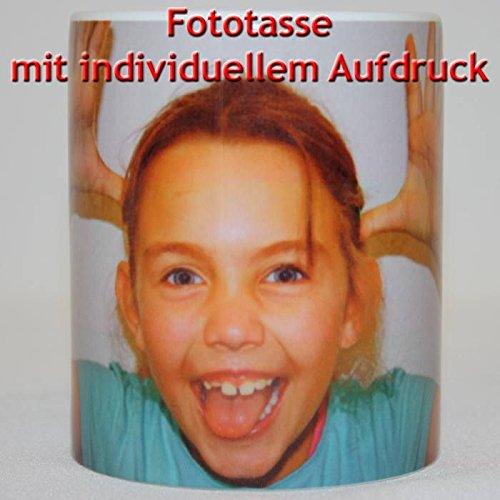 Fototasse mit Ihrem Wunschbild - Kaffebecher Kaffepott Kaffetasse als individuelle Geschenkidee