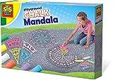 SES Creative 02208 Outdoor Next Page 02208-Straßenmalkreide Mandala, Spiel