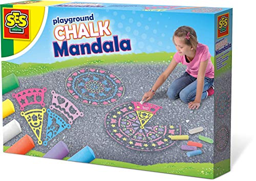 SES Creative - Mandala de Tiza (02208)