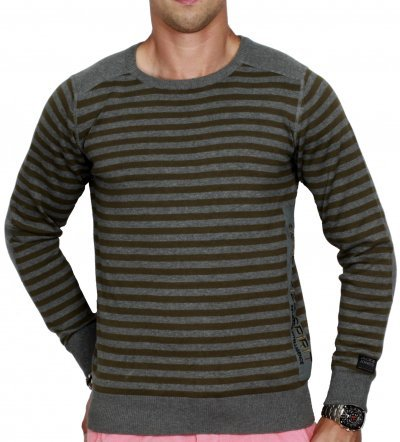 Jack & Jones PHIL SWEAT Pullover Grau