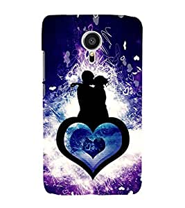Fiobs Designer Back Case Cover for Meizu MX5 (Awesome XoXo Girl Love Forever Mobille Cover Case)