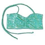 UraMermaid Bikini Top passend zu ihrer meerjungfrau-schwanz (separat erhältlich) Kinder Bandau BH - Jade Grün Blasen, 6-7