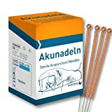 wandrey AKUNADELN CU 2015 Akupunkturnadeln, Kupfergriff, 0,20x15mm, 1602015, 100 St.