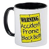Best CafePress Dad Belts - CafePress - Accident Prone Black Belt Mug Review