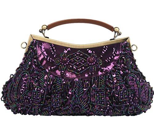 LAIDAYE Dinner Tasche Retro Handtasche Handtasche Messenger Bag Handtaschen 1