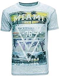 SoulStar - T-shirt - Homme bleu bleu ciel