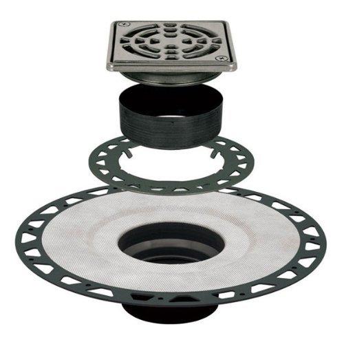 Schluter Kerdi-Drain Kit Tileable Grate ABS KD2/ABS/ECS by Schluter Kerdi Tileable Drain kit - Kerdi-drain
