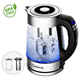 Smart Electric Kettle (BPA Free), Chefavor 1.8 L 2200W, Temperature Controllable with LCD