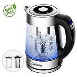 Best Electric Tea Kettle Temperature Controls - Smart Electric Kettle (BPA Free), Chefavor 1.8 L Review