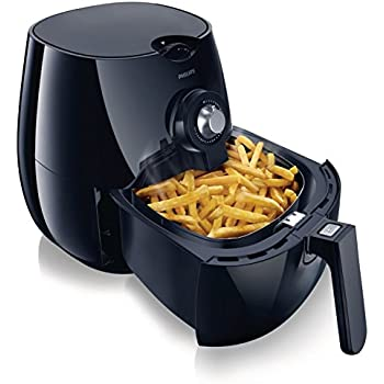 Philips HD9220/20 Viva Collection AirFryer Friggitrice Low-Oil e Multicooker, Capacità 800 g, Nero