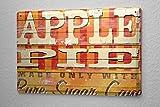 Blechschild M. A. Allen Retro US Deko Apfel Werbung American Apple Pie 20x30 cm