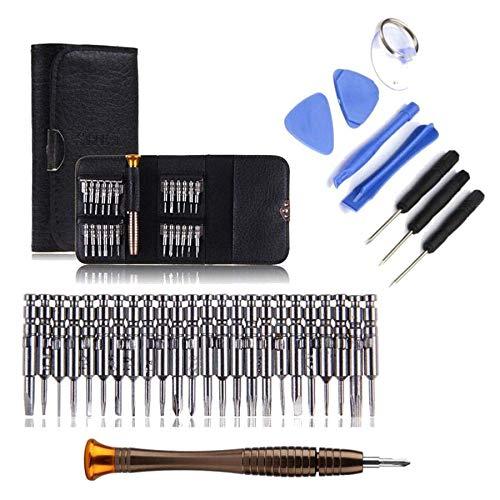 K8U148 @FATO Bakeey 33 TM in 1 Multifunktions-Präzisions-Schraubenzieher-Wallet-Reparatur-Werkzeug-Set für iPhone Xiaomi iPad Pda Holster
