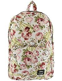 Loungefly La Bella y la Bestia Imprimir mochila de diseño floral
