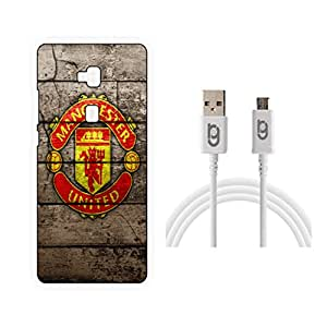 Designer Hard Back Case for Honor 5X with 1.5m Micro USB Cable
