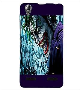 PrintDhaba Cartoon joker D-3283 Back Case Cover for LENOVO A6000 (Multi-Coloured)