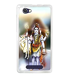 LAVA A71 SILICON BACK COVER BY instyler