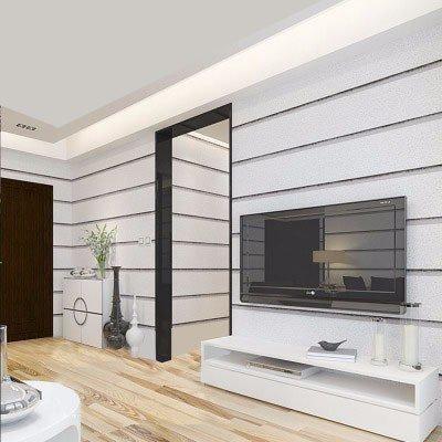 HUANGYAHUI Moderne Imitation Marmor Fliesen Gestreifte Tapete Einfache 3D Video Wand Tapeten Schlafzimmer Wohnzimmer Tv-Kulisse Umweltschutz, Grau
