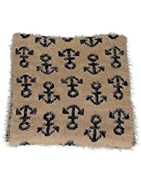 Anchor Print Two Tone Supple Warm Winter Snood Scarf