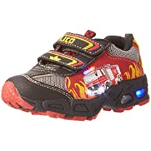 Lico Hot V Blinky, Boys' Low-Top Trainer, Multicolored (ROT/SCHWARZ/GELB), 9.5 UK Child (27 EU)