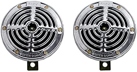 R.J.VON High Tone Universal RJEXHTSU01 Horn Face and Relay (Pack of 2)