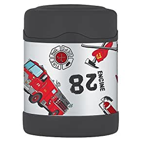 Thermos FUNtainer Stainless Steel Food Jar Fire Engine 10oz 290ml