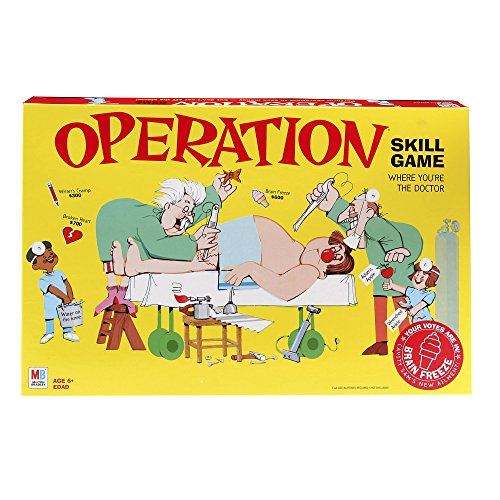Operation Game (Classic Version) by Hasbro