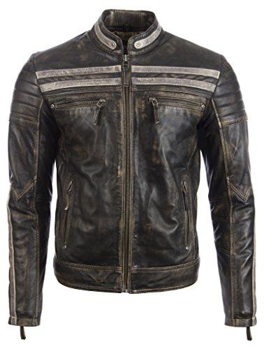 huge selection of 50dc2 04975 Giacca di pelle da uomo: un capo d'abbigliamento che non ...