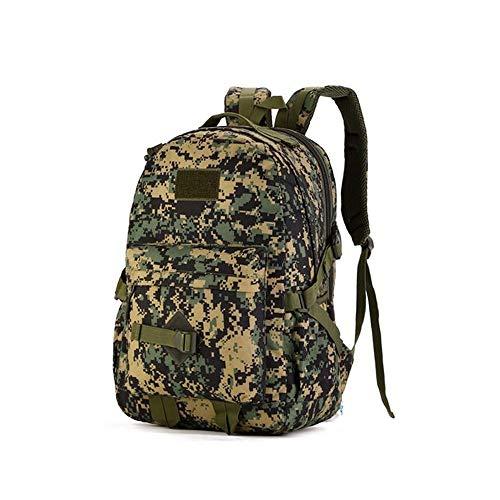 LQRYJDZ Outdoor multifunktions große kapazität kombinationsrucksack Camo Rucksack Rucksack Wasserdichte Nylon for Männer und Frauen Rucksack Wandern Tasche Trekking Camping Pack Reisetasche -