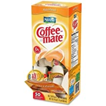 Coffee-mate Hazelnut Creamer, .375 oz., 50 Creamers/Box by