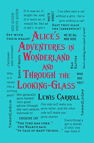 Alice's Adventures in Wonderland and Through the Looking-Glass (Word Cloud Classics) von [Carroll, Lewis]