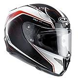 HJC Motorradhelm - RPHA 11 Darter MC1, Noir/Rouge, Größe L