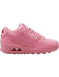 Para mujer Nike Air Max 90DMB QS rosa instructores 813152600UK 7,5EUR 42US 10