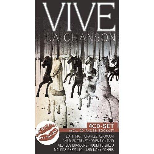Vive la Chanson-Buchformat (Music Box Frankreich)